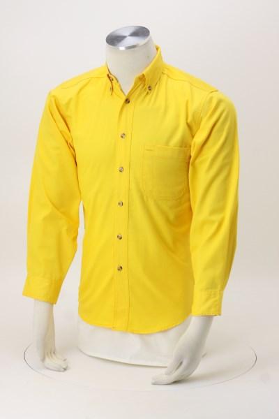 Blue Generation LS Teflon Treated Twill Shirt - Men's 360 View