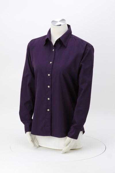 Blue Generation LS Teflon Treated Twill Shirt - Ladies' 360 View