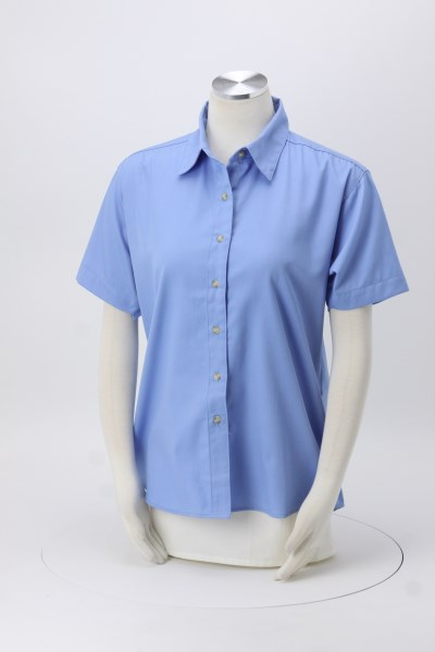 Blue Generation SS Teflon Treated Twill Shirt - Ladies' 360 View