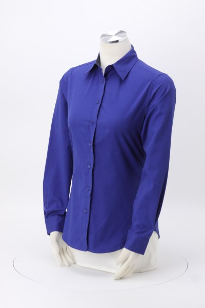 Workplace Easy Care Twill Shirt - Ladies' 360 View