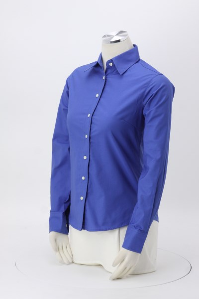 Structure Stain Release Oxford Shirt - Ladies' 360 View