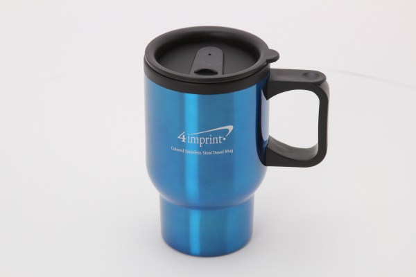 Stainless Steel Travel Mug - 16 oz. 360 View
