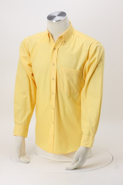 Easy-Care Poplin Shirt - Men's 360 View