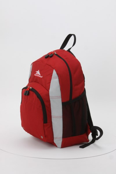 High Sierra Impact Backpack - Embroidered 360 View