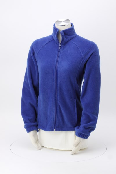 Harriton Full-Zip Fleece - Ladies' 360 View