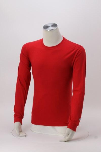 Champion Long-Sleeve Tagless T-Shirt - Colors 360 View