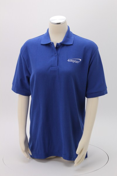 Soft Touch Pique Sport Shirt - Ladies' - Embroidered 360 View