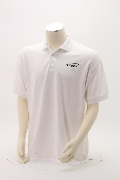 Soft Touch Pique Sport Shirt - Men's - Embroidered 360 View