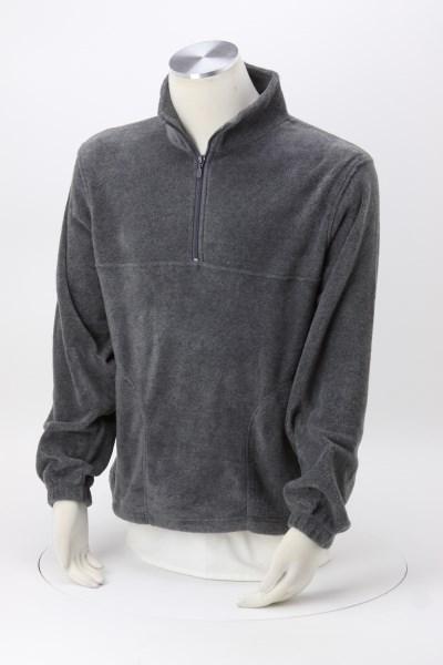 Harriton 1/4-Zip Fleece Pullover 360 View