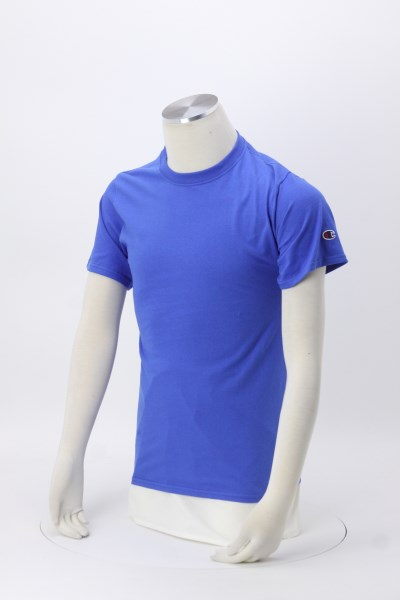 Champion Tagless T-Shirt - Embroidered - Colors 360 View