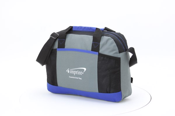 Essential Brief Bag - Embroidered 360 View