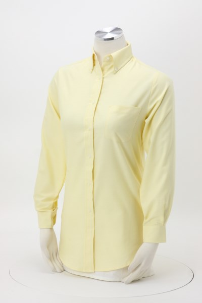 Classic Wrinkle Resistant Oxford Dress Shirt - Ladies' 360 View