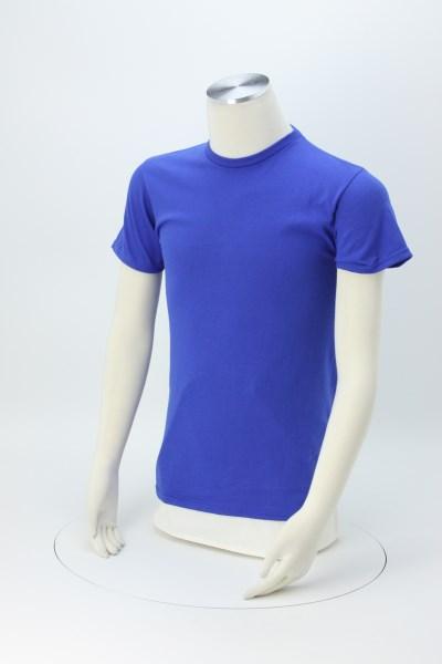 Adult 5.2 oz. Cotton T-Shirt - Screen 360 View
