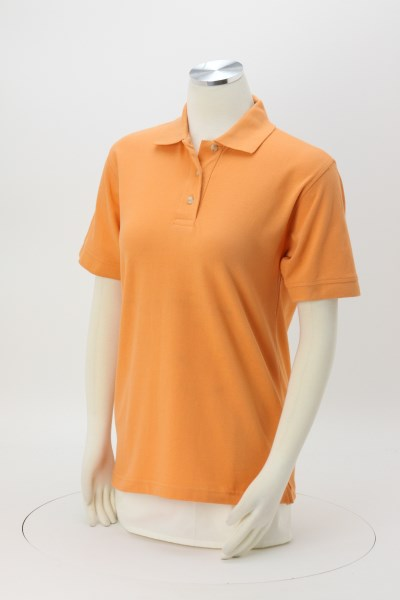 Egyptian Cotton Pique Polo - Ladies' 360 View