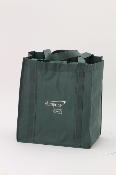 "Value Grocery Tote - 15"" x 13"" - 24 hr 360 View"