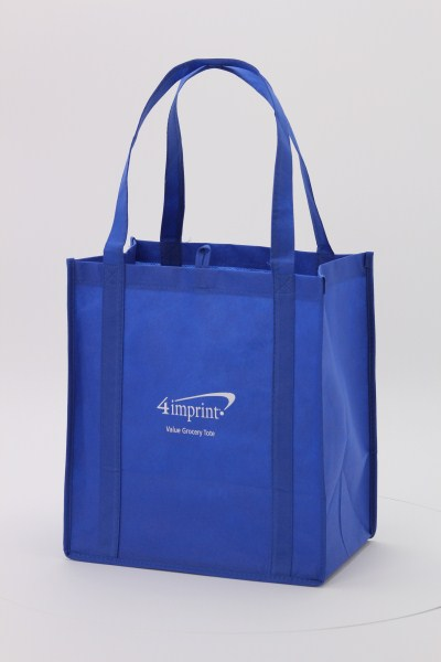 "Value Grocery Tote - 13"" x 12"" - 24 hr 360 View"