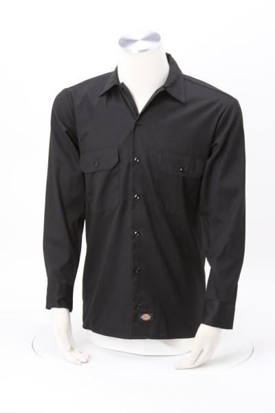 Dickies 5.2 oz. Long Sleeve Work Shirt 360 View