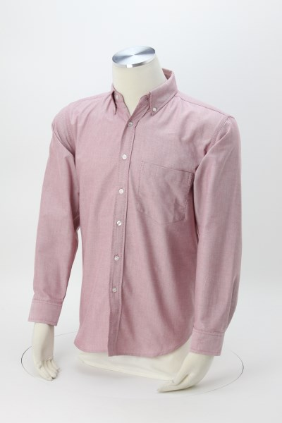 Blue Generation Long Sleeve Oxford - Men's - Solid 360 View