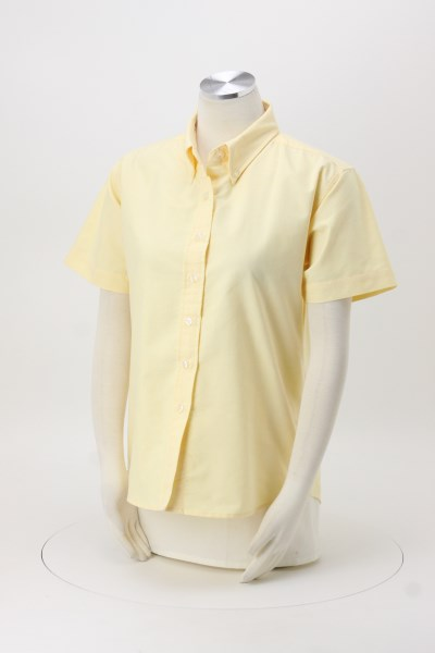 Blue Generation Short Sleeve Oxford - Ladies' - Solid 360 View