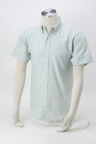 Blue Generation Short Sleeve Oxford - Men's - Stripes 360 View