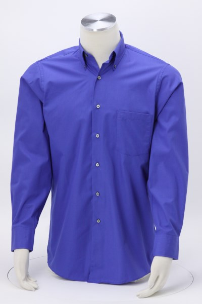 Van Heusen Silky Poplin Shirt - Men's 360 View
