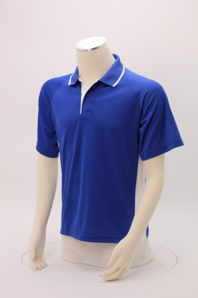 Tipped Colorblock Wicking Polo - Men's 360 View