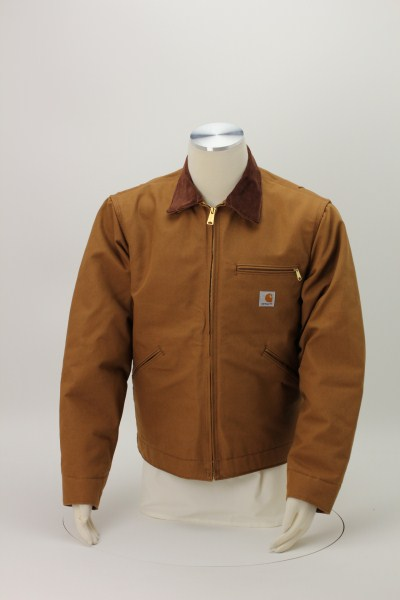 Carhartt Duck Detroit Jacket - Blanket Lined 360 View