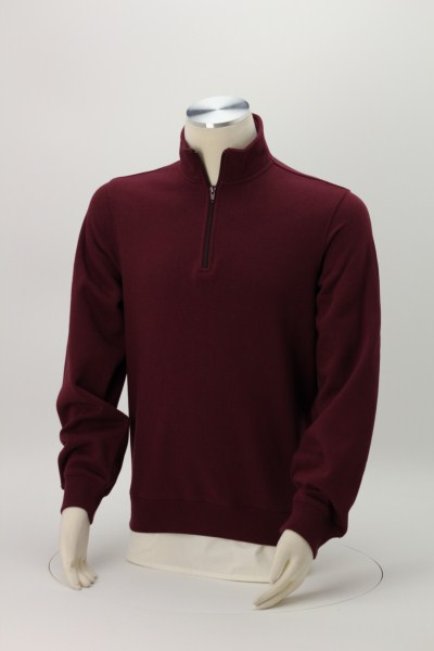 Athletic Fit 1/4-Zip Sweatshirt - Men's - Embroidered 360 View