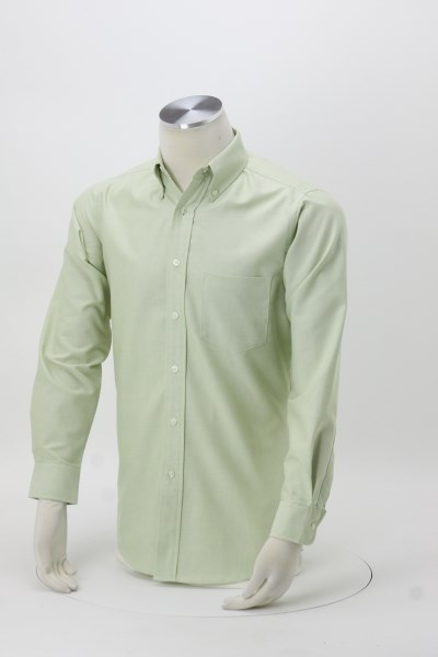 Classic Wrinkle Resistant Oxford Dress Shirt - Men's 360 View