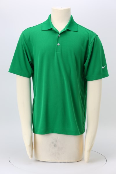 Nike Performance Tech Pique Polo - Men's - Embroidered 360 View