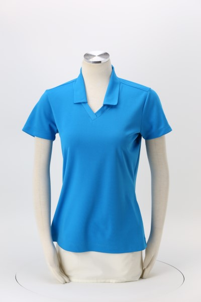 Nike Performance Tech Pique Polo - Ladies' - Embroidered 360 View