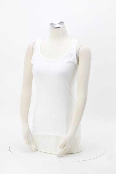 Gildan Softstyle Tank Top - Ladies' - White - Screen 360 View