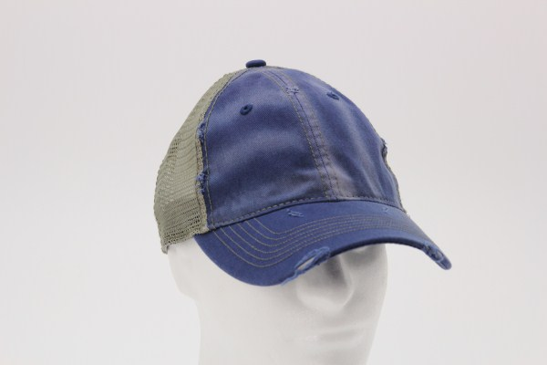 Dirty Washed Mesh-Back Cap 360 View