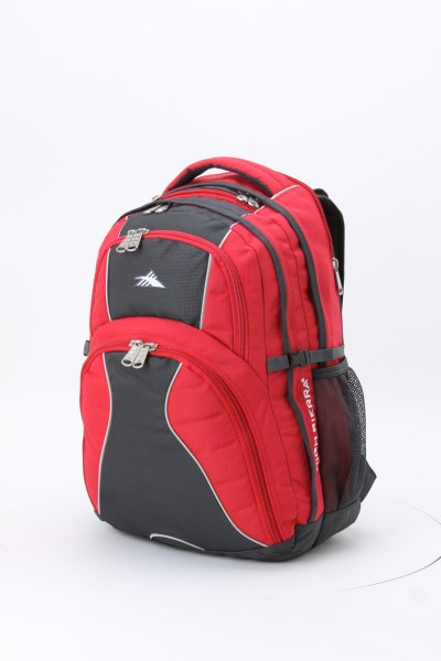 """High Sierra Swerve 17"""" Laptop Backpack 360 View"""