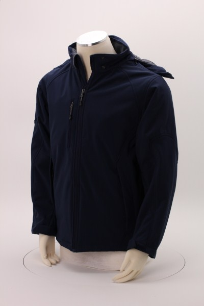 North End Insulated Soft Shell Hooded Jacket - Men's 360 View