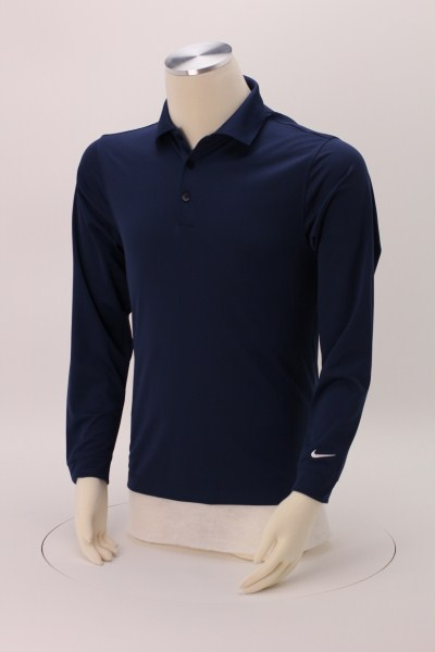 Nike Performance Long Sleeve Stretch Polo - Men's 360 View