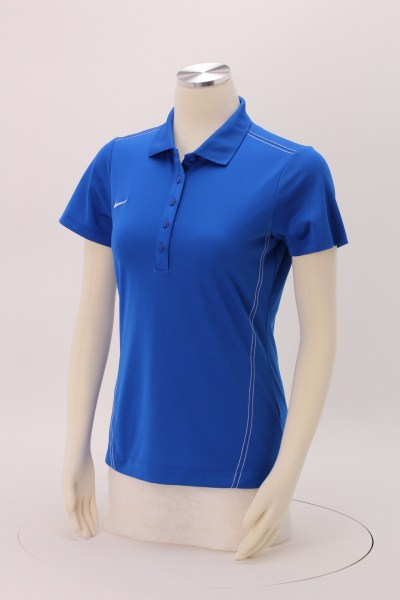 Nike Performance Stitch Accent Pique Polo - Ladies' 360 View