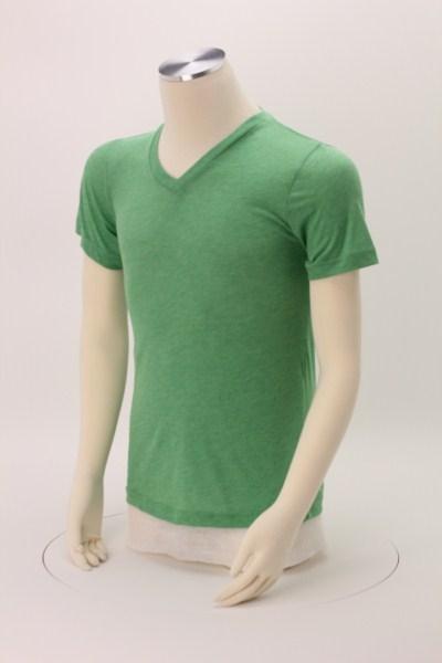 Bella+Canvas Tri-Blend V-Neck T-Shirt - Men's 360 View