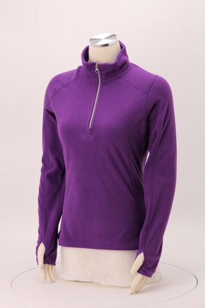 Microfleece 1/2-Zip Pullover - Ladies' 360 View