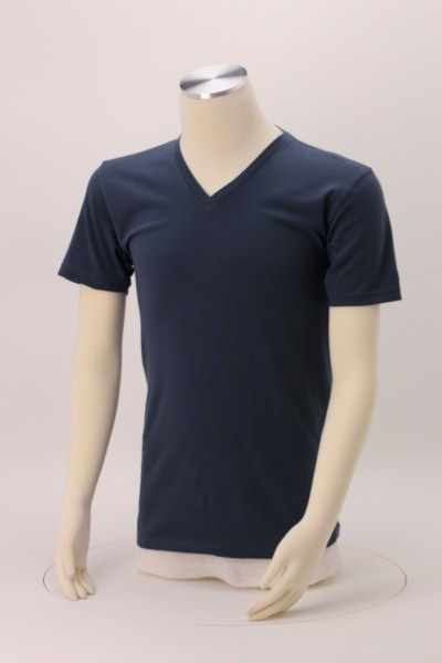 Next Level Fitted 4.3 oz. V-Neck T-Shirt - Men's - Screen 360 View