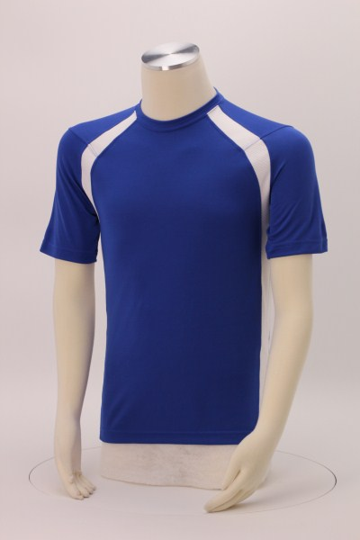 Colorblock Athletic T-Shirt 360 View