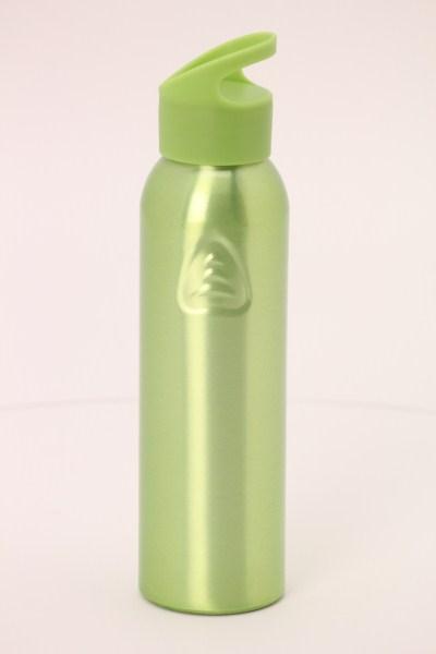Angle Up Aluminum Sport Bottle - 22 oz. 360 View