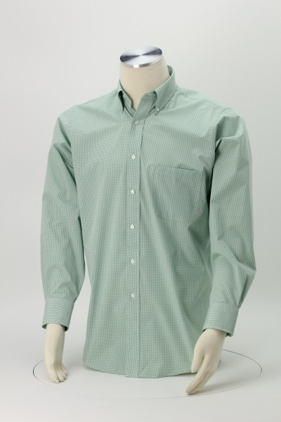Van Heusen Gingham Check Shirt - Men's 360 View