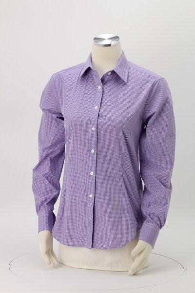 Van Heusen Gingham Check Shirt - Ladies' 360 View