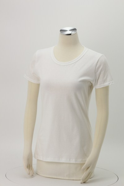 Fruit of the Loom HD T-Shirt - Ladies' - White 360 View