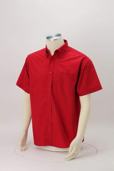 Superblend Short Sleeve Poplin Shirt - Men's 360 View