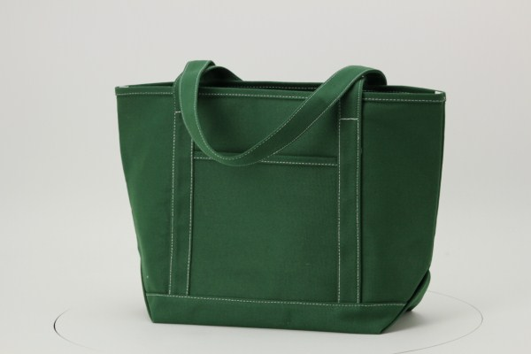 """Solid Cotton Yacht Tote - 13"""" x 20"""" 360 View"""