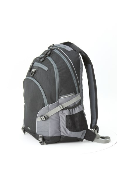 High Sierra Loop Backpack - Embroidered 360 View