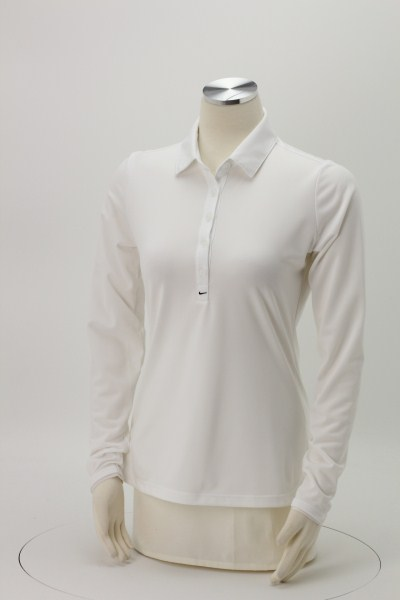Nike Performance Long Sleeve Stretch Polo - Ladies' 360 View