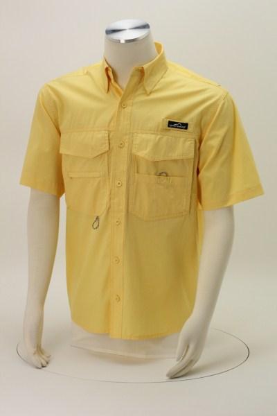 Eddie Bauer Cotton SS Angler Shirt 360 View